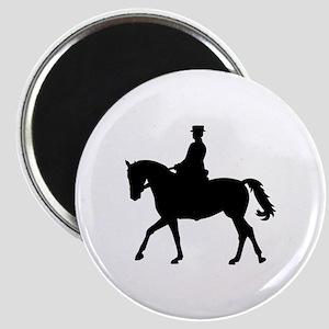 Riding dressage Magnet