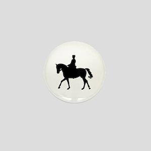 Riding dressage Mini Button