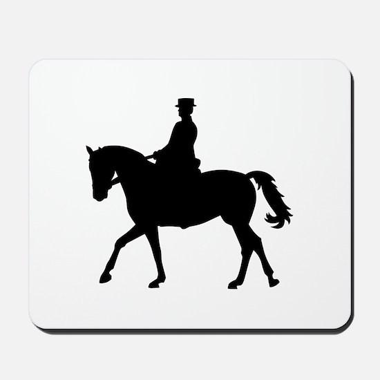 Riding dressage Mousepad