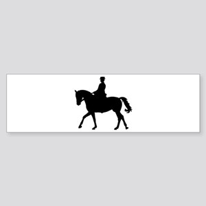 Riding dressage Sticker (Bumper)