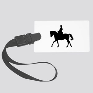 Riding dressage Large Luggage Tag
