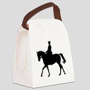 Riding dressage Canvas Lunch Bag