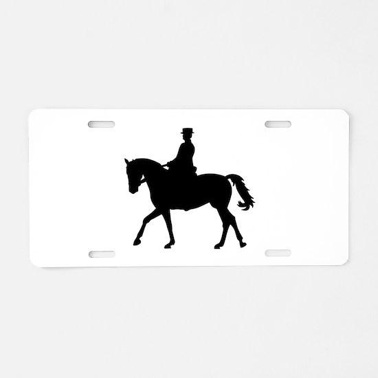 Riding dressage Aluminum License Plate