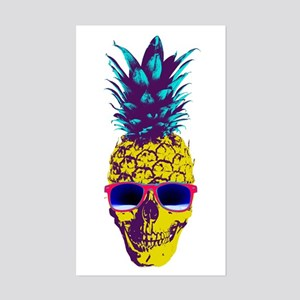 Pineapple Skull Sticker