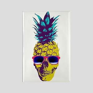Pineapple Skull Magnets