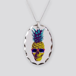 Pineapple Skull Necklace