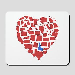 Idaho Heart Mousepad