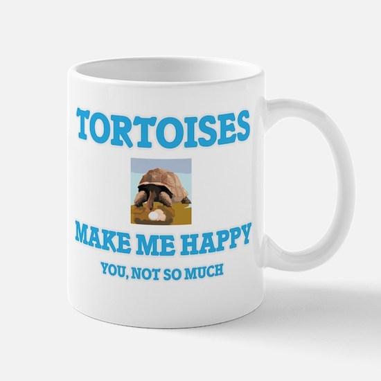 Tortoises Make Me Happy Mugs
