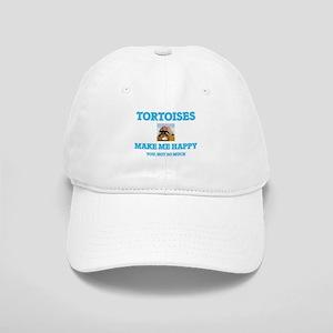 Tortoises Make Me Happy Cap