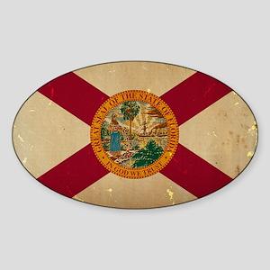 Florida State Flag VINTAGE Sticker