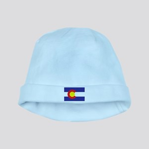 Colorado State Flag baby hat