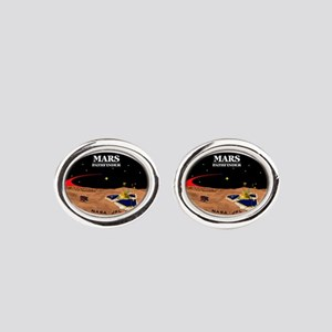 Mars Pathfinder Oval Cufflinks