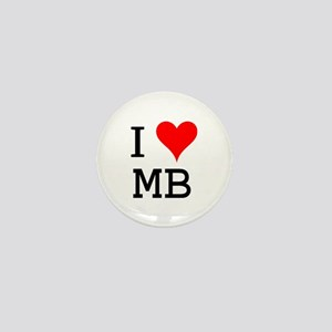 I Love MB Mini Button