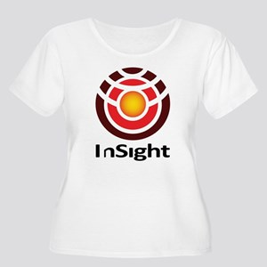 InSight to Ma Women's Plus Size Scoop Neck T-Shirt