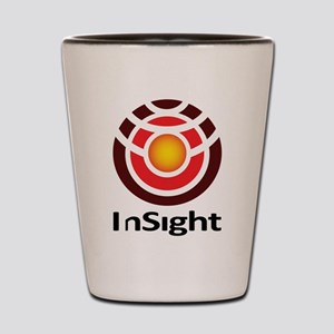 InSight to Mars! Shot Glass