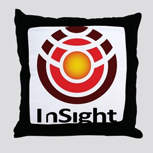 InSight to Mars! Throw Pillow