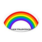 Pride San Francisco Wall Decal