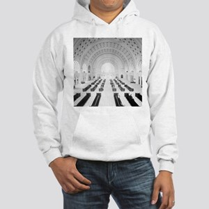 Union Station Grand Lobby, 1910 Hooded Sweatshirt
