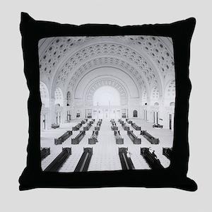 Union Station Grand Lobby, 1910 Throw Pillow