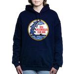 USS LOS ANGELES Women's Hooded Sweatshirt