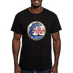 USS LOS ANGELES Men's Fitted T-Shirt (dark)