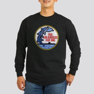 USS LOS ANGELES Long Sleeve Dark T-Shirt