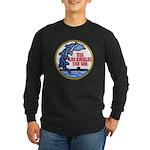 USS LOS ANGELES Long Sleeve Dark T-Shirt