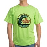 USS LOS ANGELES Green T-Shirt