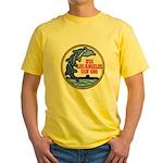 USS LOS ANGELES Yellow T-Shirt