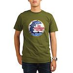USS LOS ANGELES Organic Men's T-Shirt (dark)