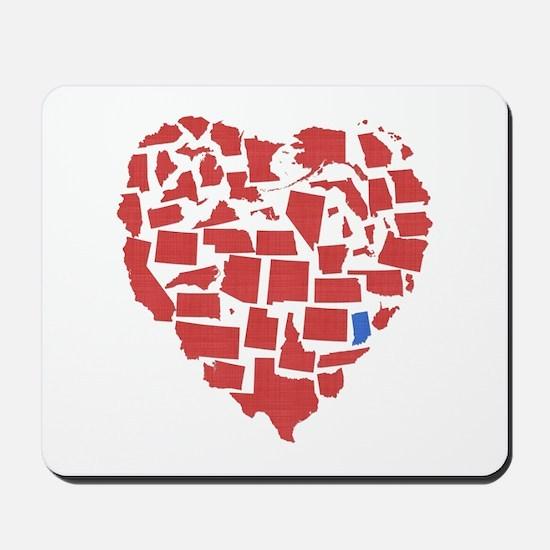 Indiana Heart Mousepad