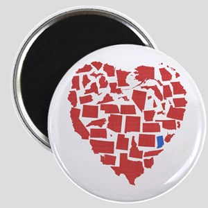 Indiana Heart Magnet