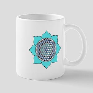 Lotus Blue2 Mug