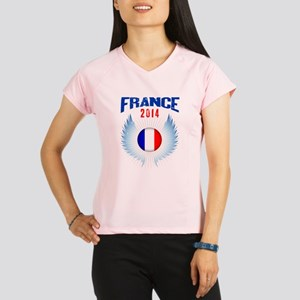 Soccer FRANCE 2014 Wings Performance Dry T-Shirt