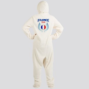 Soccer FRANCE 2014 Wings Footed Pajamas