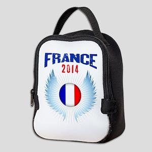 Soccer FRANCE 2014 Wings Neoprene Lunch Bag