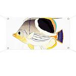 Saddleback Butterflyfish Banner
