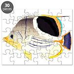 Saddleback Butterflyfish Puzzle