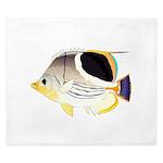 Saddleback Butterflyfish King Duvet