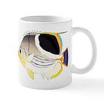 Saddleback Butterflyfish C Mugs