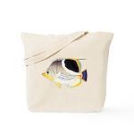 Saddleback Butterflyfish C Tote Bag