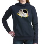 Saddleback Butterflyfish C Women's Hooded Sweatshi
