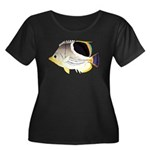 Saddleback Butterflyfish C Plus Size T-Shirt