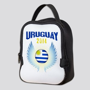 Soccer Uruguay 2014 Wings Neoprene Lunch Bag