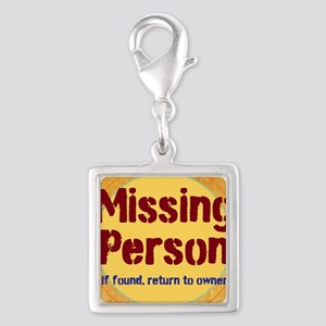 Missing Person Charms