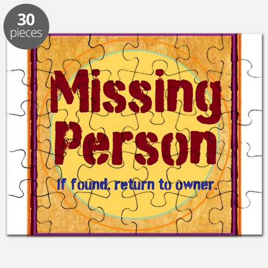 Missing Person Puzzle
