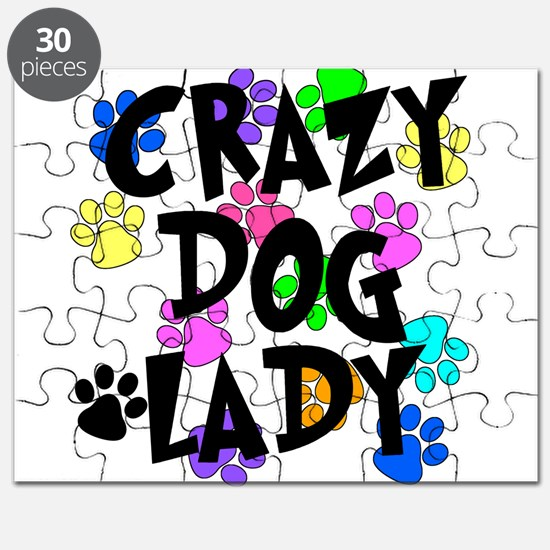 Crazy Dog Lady Puzzle