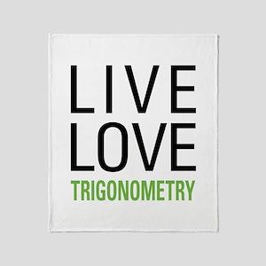 Trigonometry Throw Blanket