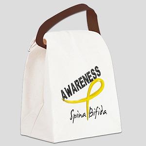 Spina Bifida Awareness3 Canvas Lunch Bag