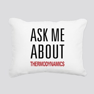 askthermo Rectangular Canvas Pillow